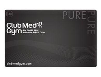 Pré-ouverture du Club PURE CLUB MED GYM : lancement d'une carte COLLECTOR limited !
