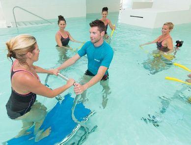 LAGON TONIC©, un nouveau concept de circuit-training sur appareils de fitness aquatiques