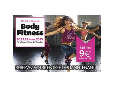 28ème édition du Salon Mondial Body Fitness 2015