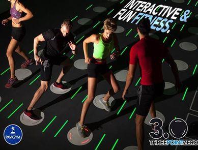 Découvrez Pavigym, le fitness interactif !