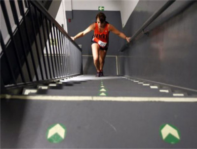 La course verticale, du running d'escalier très cardio !