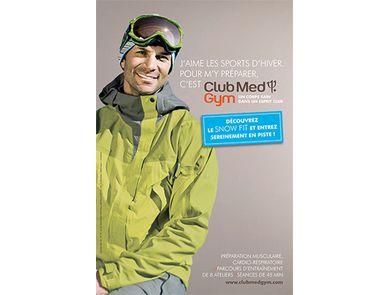 A chacun son Snow Fit pour profiter à fond des sports d'hiver avec le Club Med Gym