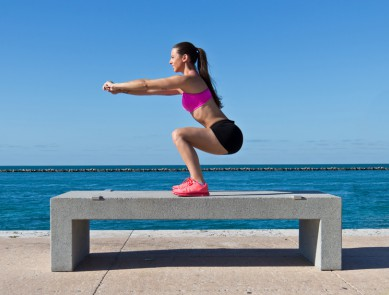 Zoom Exercice : le squat