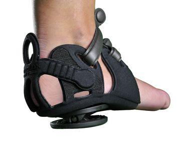 Soigner efficacement une entorse de la cheville avec un chausson !
