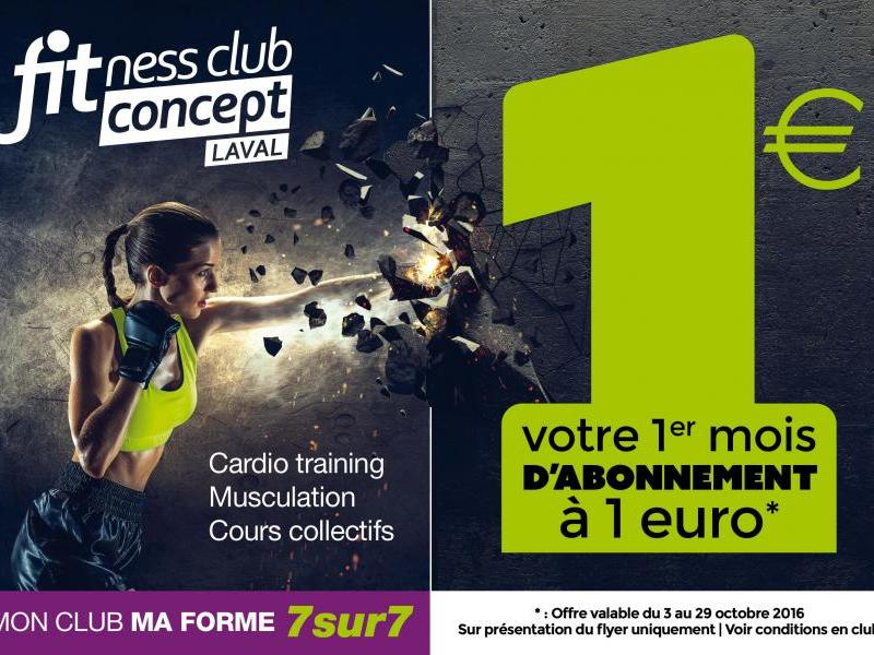 Fitness Club Concept Laval
