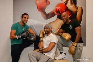 Mehdi, Tony et Fehd
